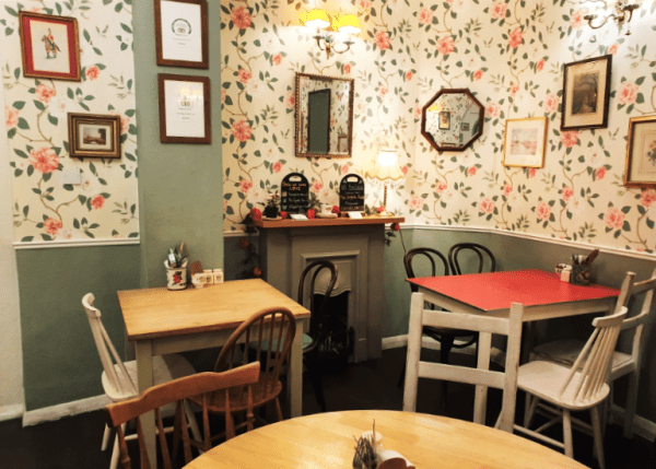 English Rose Hotspots in Londen