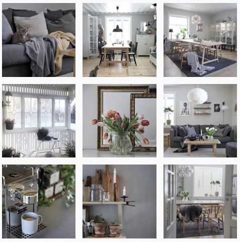 Scandinavisch wonen Instagram account