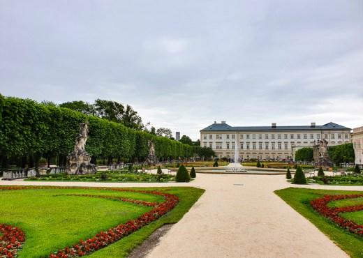 Mirabell tuinen Salzburg