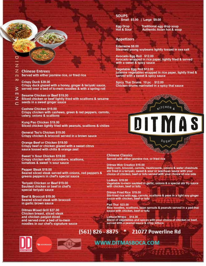 Ditmas_Chinese_take_out_menu