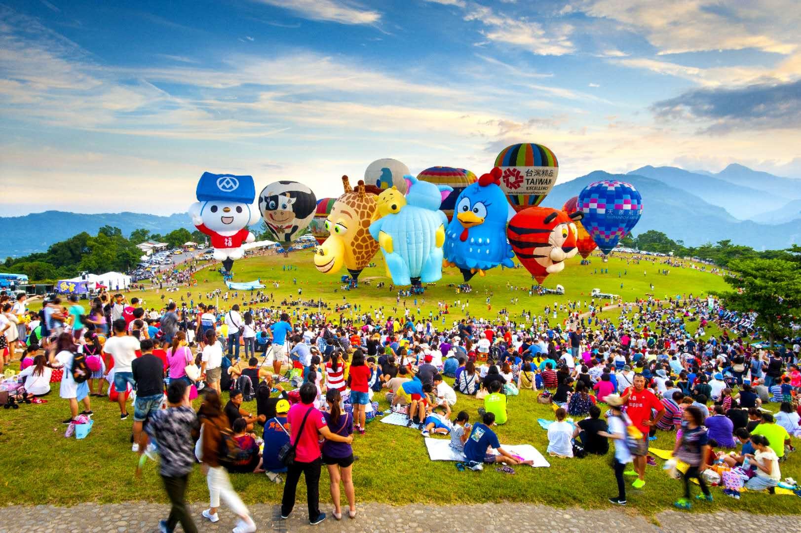 2018年臺灣國際熱氣球嘉年華 – dittou