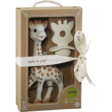 sofie-de-giraf giftset met bijtring