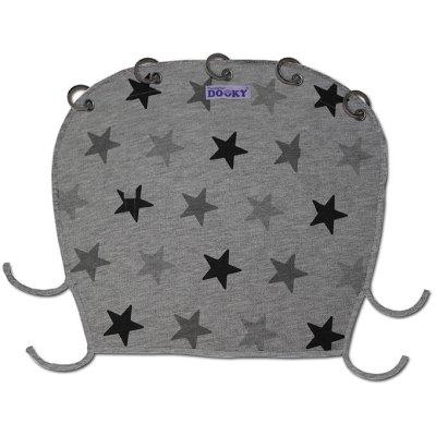 Dooky zonnekap Grey stars