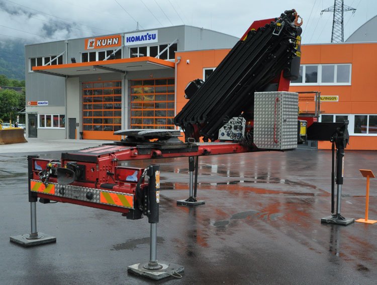 Palfinger Knuckle Boom Cranes Parts Manual