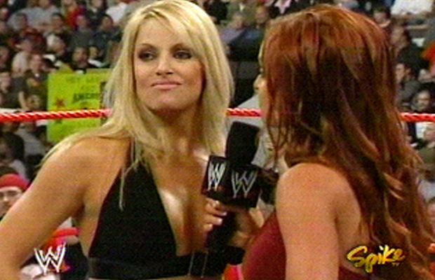 Trish and lita naked in ring sorry