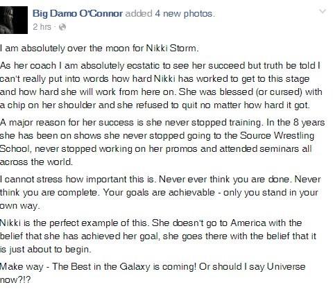 Nikki Storm WWE