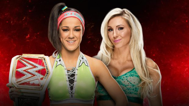 Raw Women's Champion Bayley vs Charlotte Flair WWE Fastlane 2017