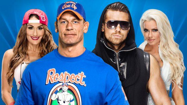 Image result for John Cena & Nikki Bella vs. The Miz & Maryse