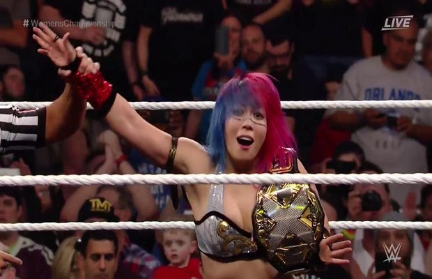 Image result for Asuka NXT Women's Champion