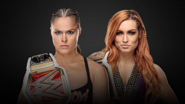 WWE Raw Rousey vs. Becky Lynch