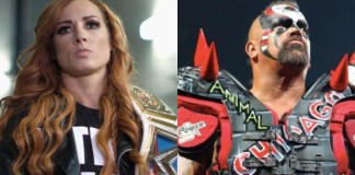 Becky Lynch Road Warrior Animal