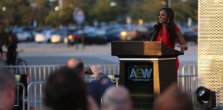 AEW Chief Brand Officer Brandi Rhodes