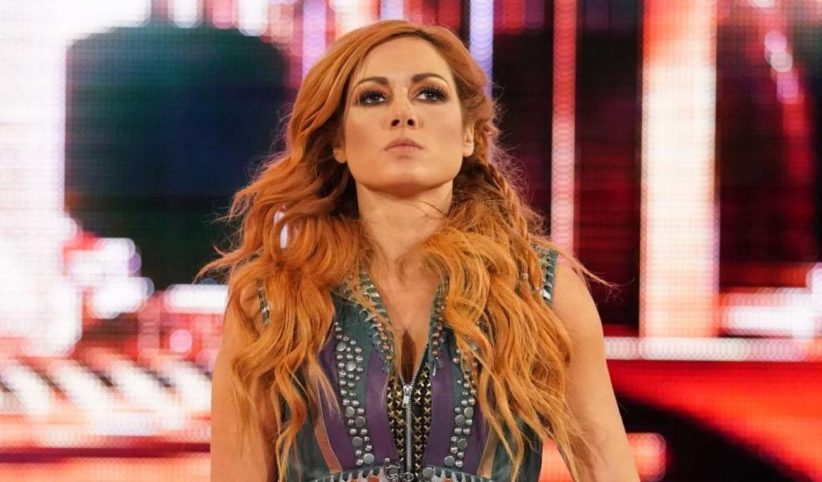 Possible spoiler on the return of Becky Lynch