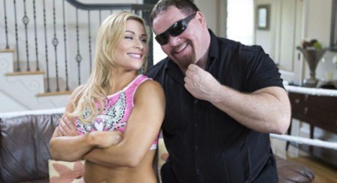 Natalya and Jim Neidhart