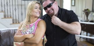 Natalya and Jim Neidhart