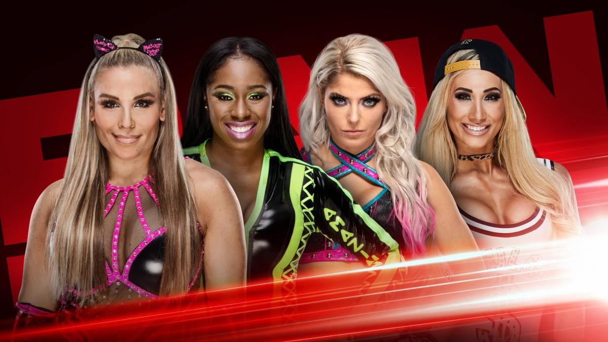 Fatal-four-way set for RAW to name Becky Lynch's next opponent