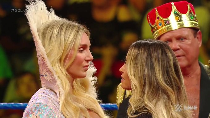 Charlotte Flair vs. Trish Stratus is official for SummerSlam