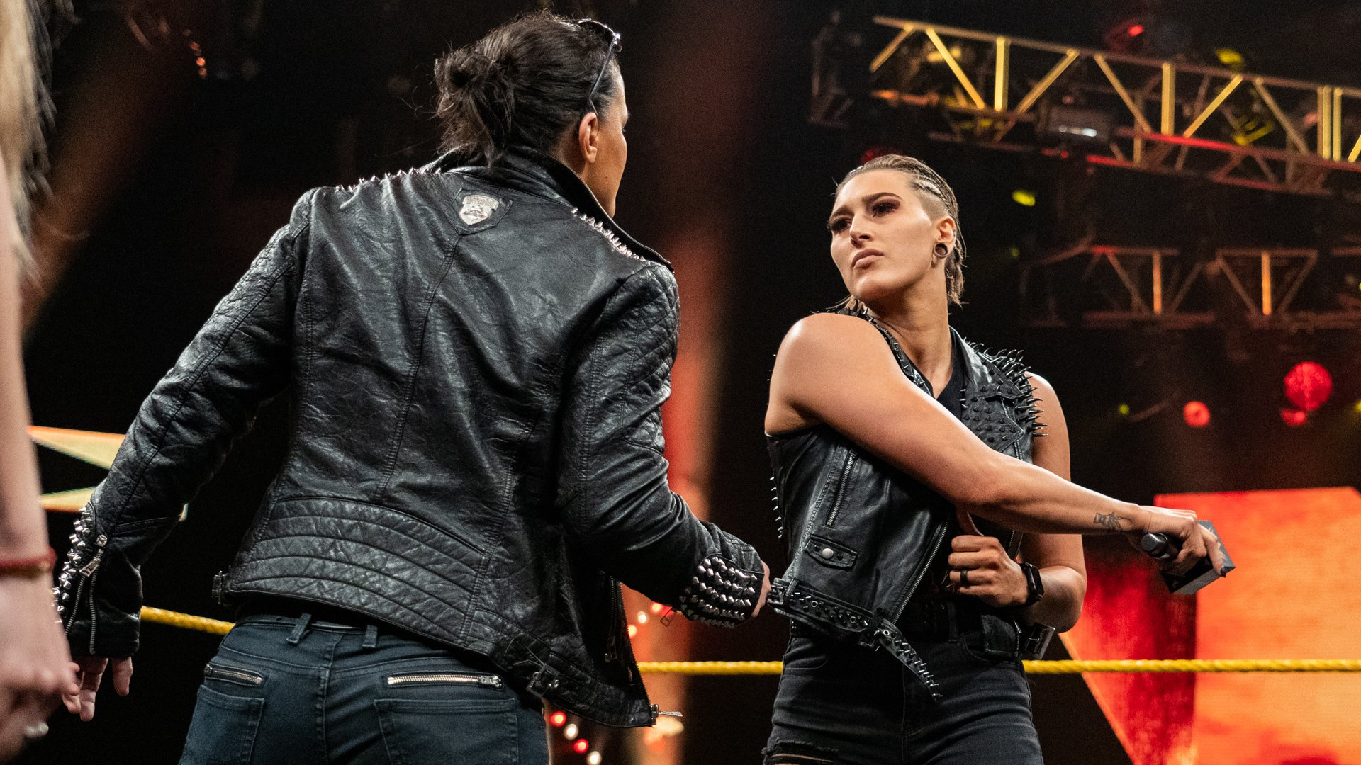 Nxt Womens Champion Shayna Baszler Backed Down From Rhea