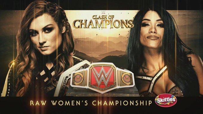 Becky Lynch vs. Sasha Banks set for Clash of Champions