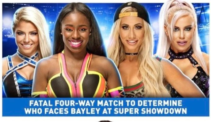 Resultado de imagem para Carmella Bayley super showdown