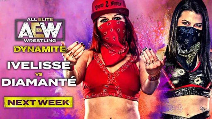 Diamante vs. Ivelisse set for AEW Dynamite next week