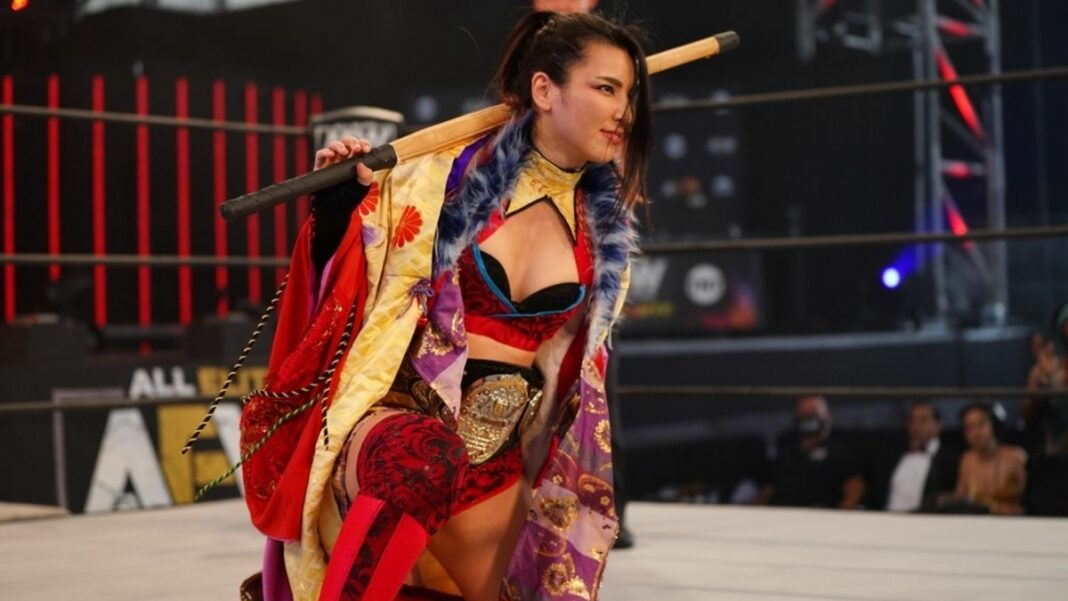 AEW Commentator reportedly let go after mocking Hikaru Shida's accent on Dynamite