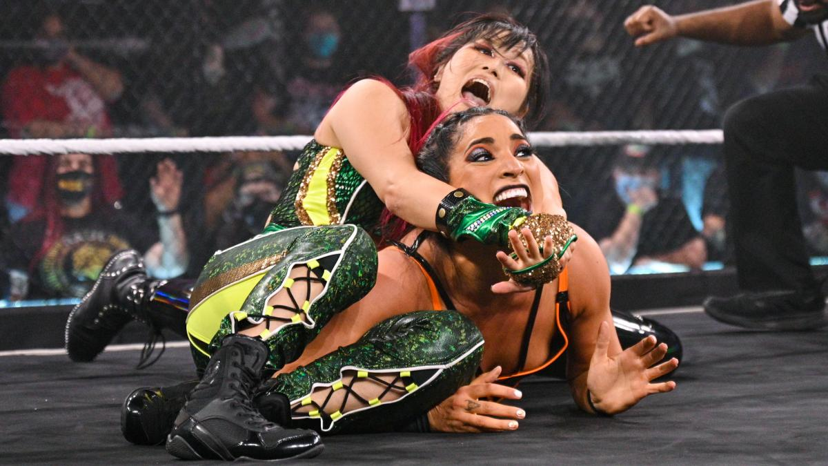 """Io Shirai says she would """"love to compete against Bayley"""" at WrestleMania"""