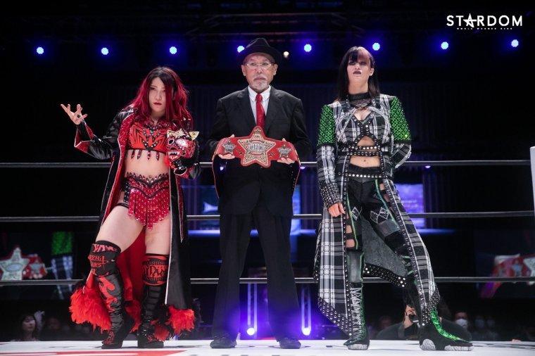 Utami retains title as Bea Priestley leaves STARDOM