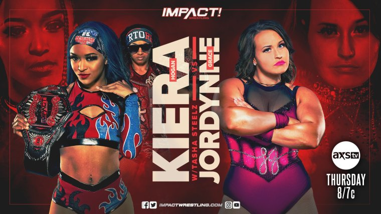 Two matches announced for the last IMPACT show before Rebellion