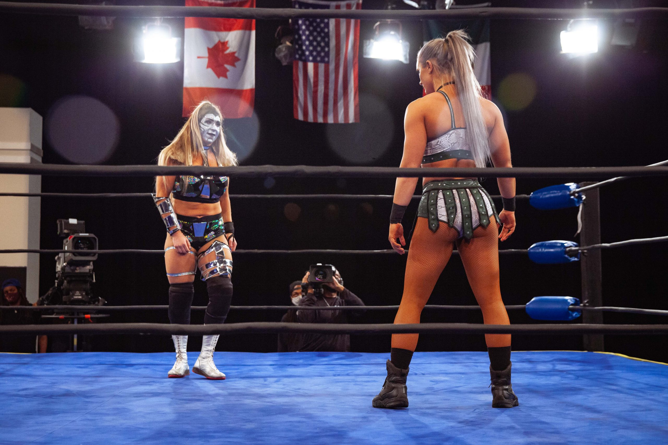 Kamille picks up a win on Powerrr before delivering a spear to Melina