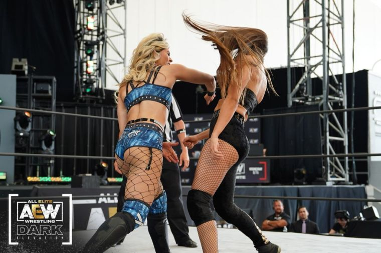 Tay Conti victorious on Elevation; Britt Baker shares her thoughts on her upcoming title match