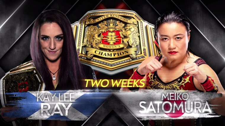 Kay Lee Ray and Meiko Satomura to clash for the NXT UK Women's Title in two weeks