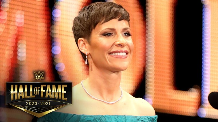 """Molly Holly explains her """"rollercoaster of emotions"""" after her Hall of Fame speech was cut down"""