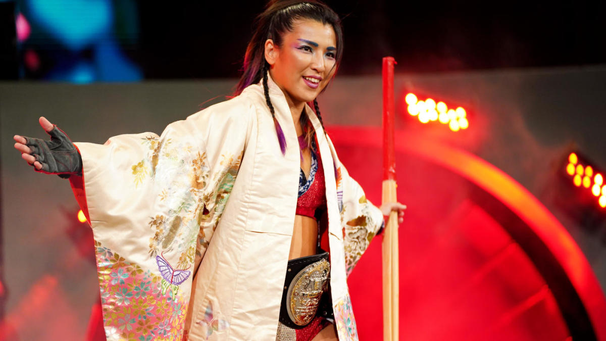 Hikaru Shida holds the AEW Women's World Title for a full year