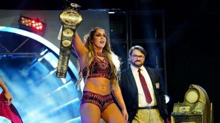 Britt Baker vs. Nyla Rose for the AEW Women's Title announced for Fyter Fest