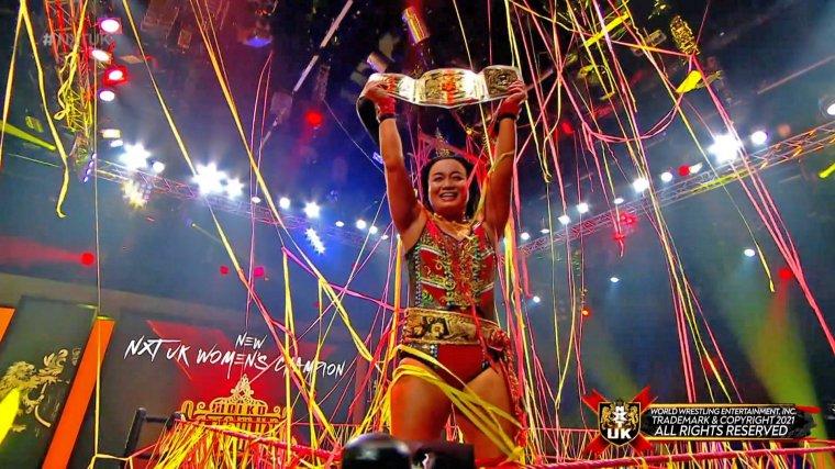 Meiko Satomura dethrones Kay Lee Ray for the NXT UK Women's Championship