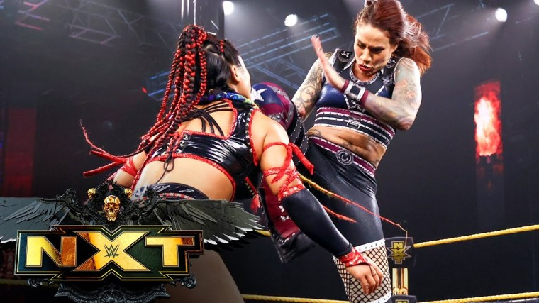 Update on Mercedes Martinez's condition after concerning ending to NXT match