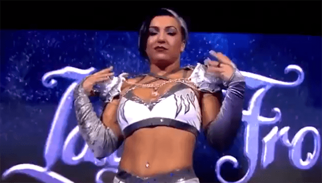Lady Frost makes her IMPACT in-ring debut