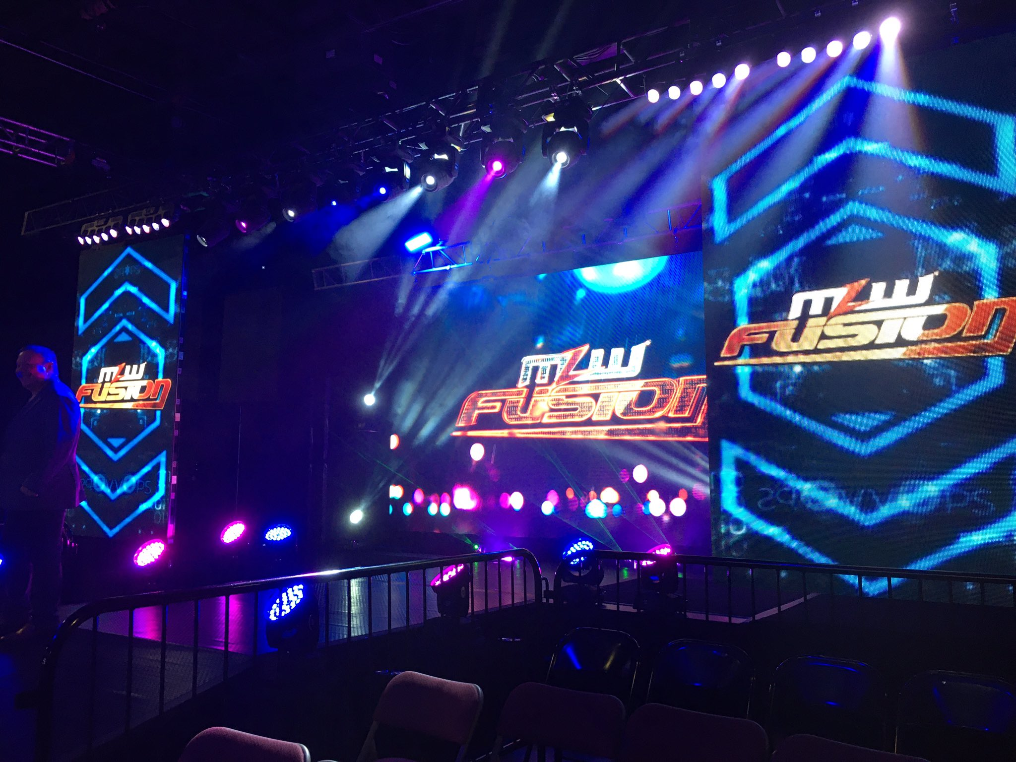 SHIMMER talents make an appearance at MLW event
