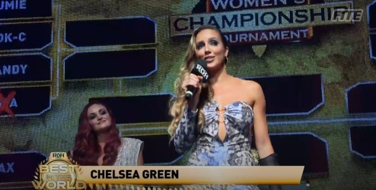 Chelsea Green debuts with Ring of Honor; Women's Championship Tournament brackets revealed