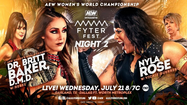 AEW Fyter Fest Night Two: Discussion Post 07.21.21