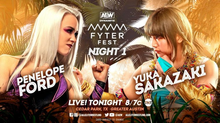 AEW Fyter Fest Night One: Discussion Post 07.14.21
