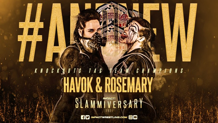 Havok & Rosemary are the NEW Knockouts Tag Team Champions