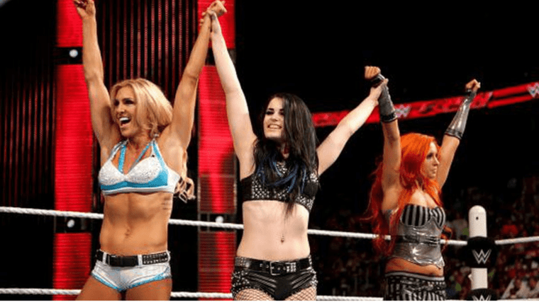 Six years ago today three women changed the wrestling landscape and launched a Women's Revolution