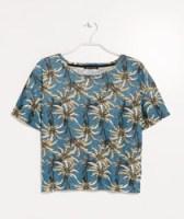 Tricou cu palmieri