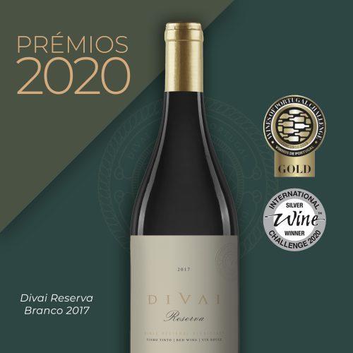 DIVAI premio 2020 reserva branco 2017