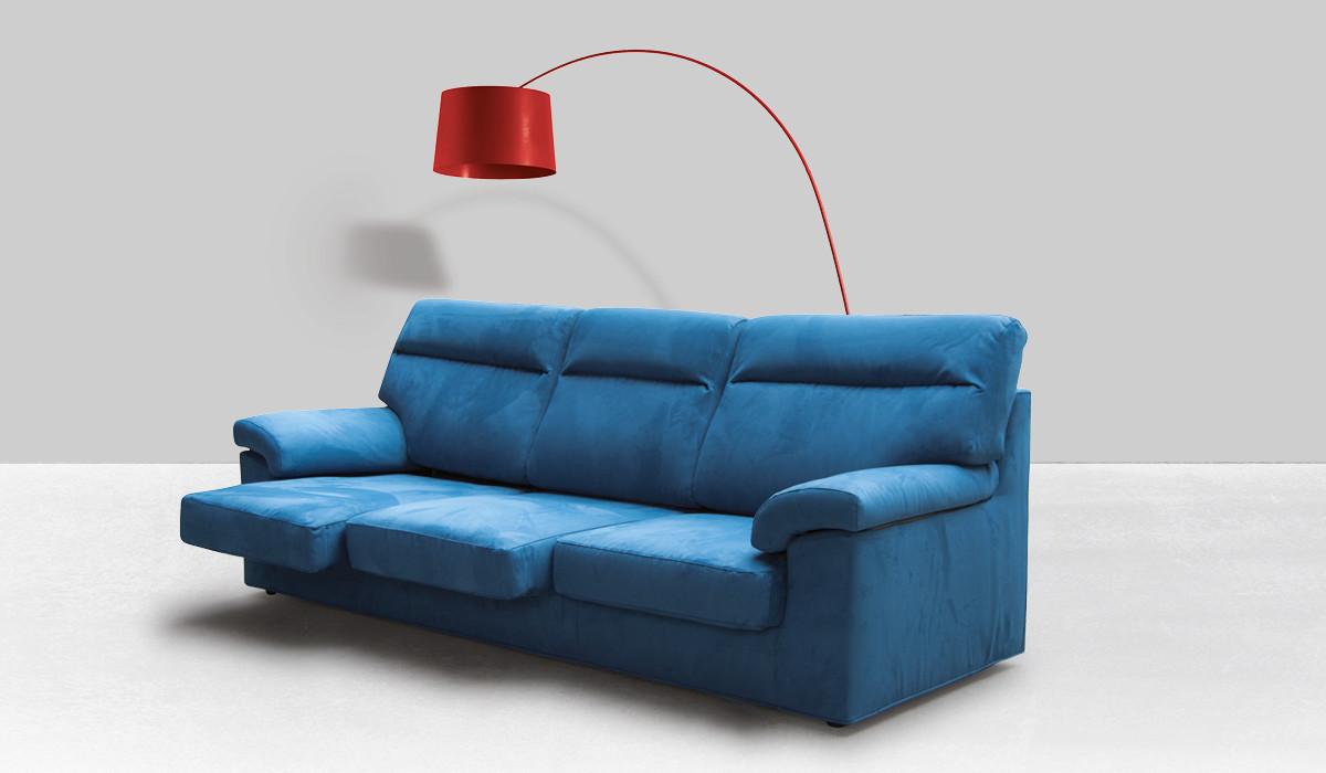 Collezione di divani angolari, con penisola, lineari, in pelle o tessuto. Baltimora Divani Tessuto Collezioni Divani Design