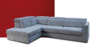 Collezione di divani angolari, con penisola, lineari, in pelle o tessuto. Divani Tessuto Collezioni Divani Design