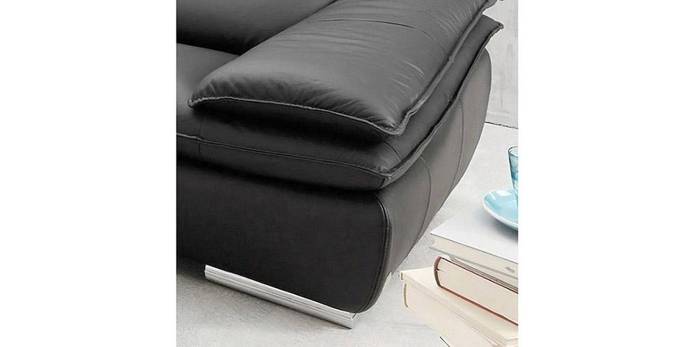 Divano in pelle divano in tessuto modello Santamaria