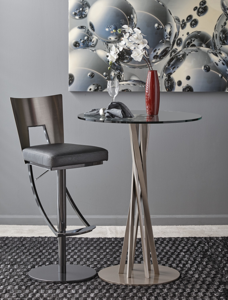 swivel chair regal floor with back support barstool by elite modern divano designs